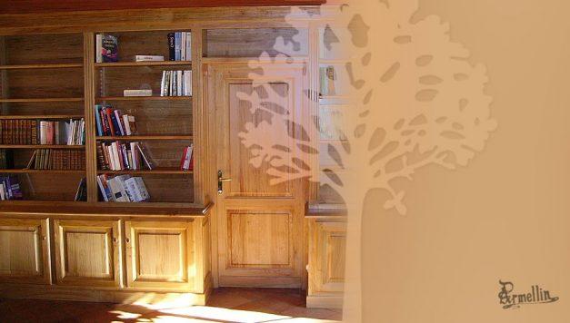 Bibliothèque en Chêne