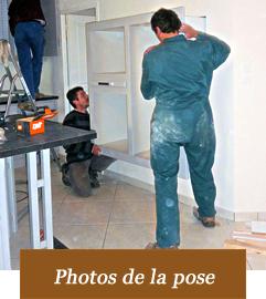Détail de la pose en photos