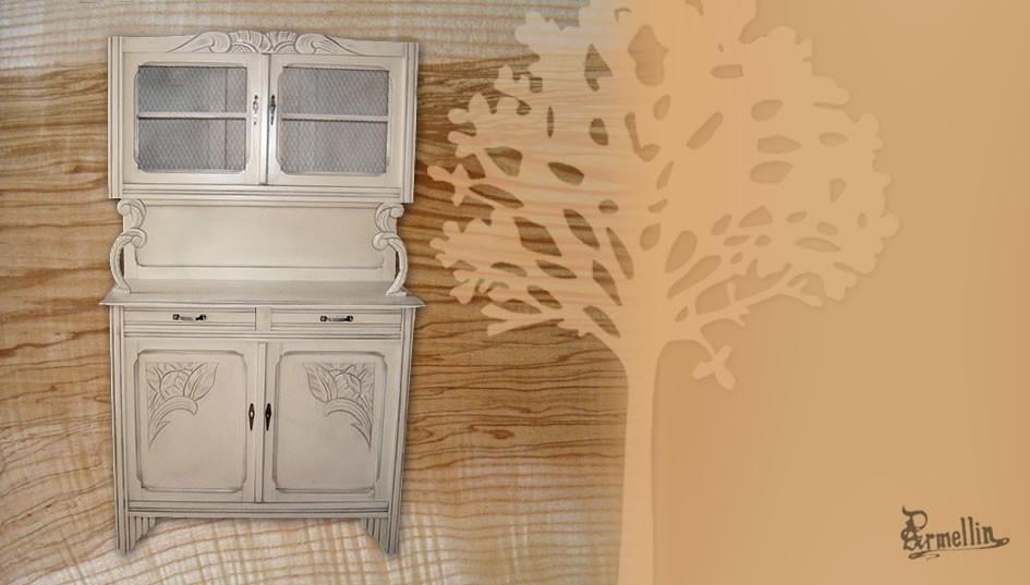 Meubles recup peints for Meuble bois peint