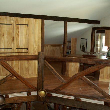 Aménagement mezzanine 1