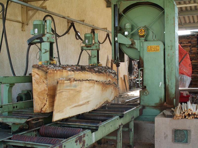 Banc de sciage du bois Fabrication meuble en bois # Sciage De Bois A Domicile