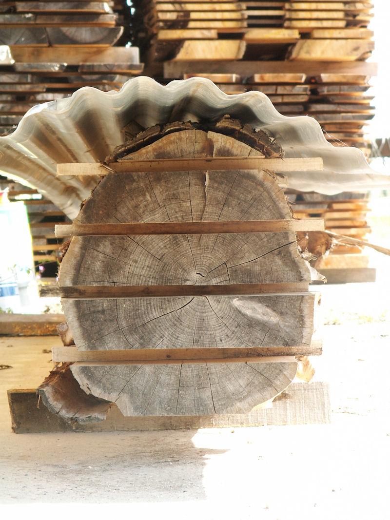 Banc de sciage du bois Fabrication meuble en bois # Bille De Bois De Sciage