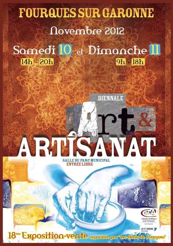 Exposition Art et Artisanat de Fourques sur Garonne (47)