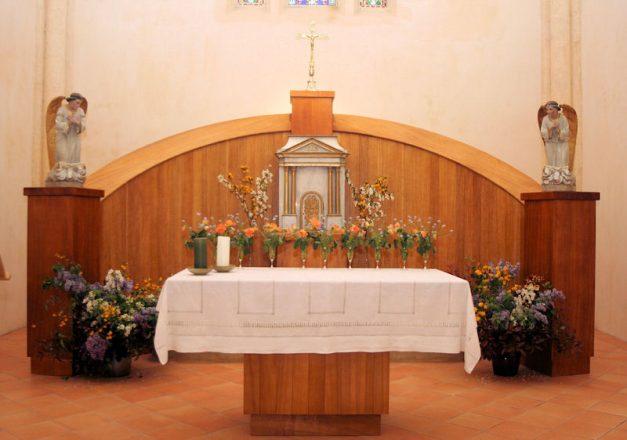 Autel église