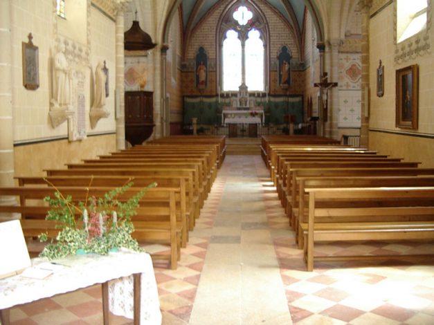 Bancs église