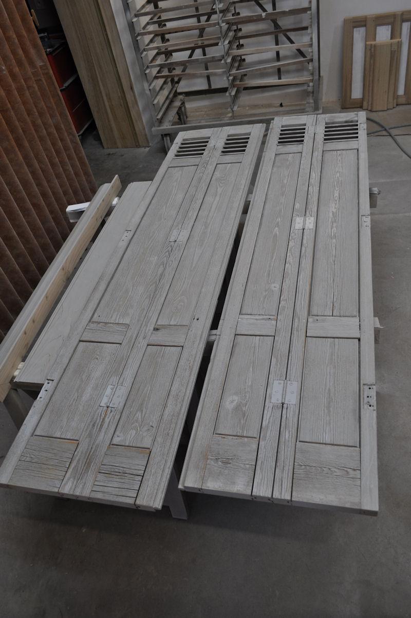 Placard Persienne Sur Mesure placard récup - fabrication meuble en bois - gironde (33