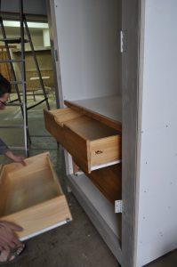 Montage tiroirs