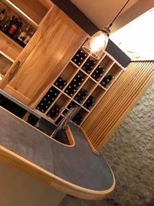 Etagères à vins