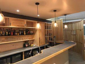 Aménagement bar
