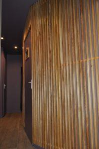 Mur des toilettes